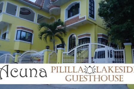 Acuna Pililla Lakeside Guesthouse (1 large room) - Pililla - Talo