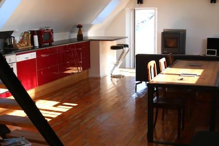 Bretagne Loft Ploneour Lavern Pays - Plonéour-Lanvern - Apartemen