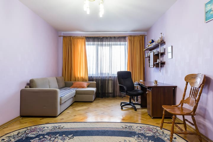 Large room for 2 travellers - Lyubertsy