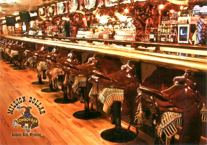 The Million Dollar Cowboy Bar has saddles instead of bar stools....we'll tell you about that and let you in on other interesting places to see in and around town.