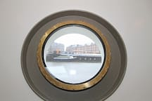view from one of the portholes