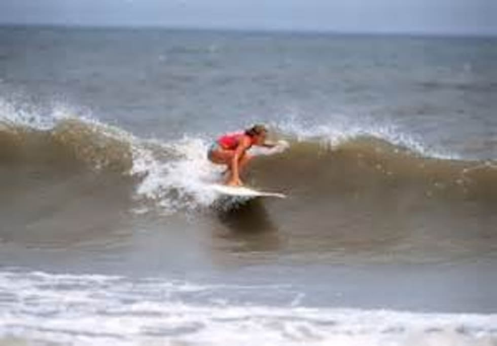 Minutes away from the beach and inter coastal water way. Surfing, paddle boarding and kayaking are all available.