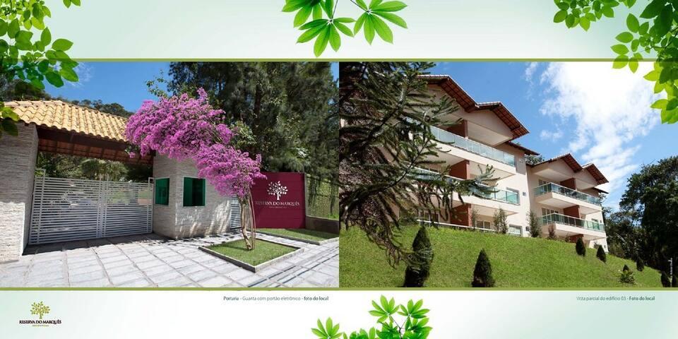 Casa em Condomínio Teresópolis com muito Lazer - Teresópolis - Huis