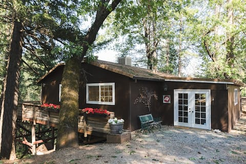 Tawny Owl Cottage - Cozy Cabin Retreat with a View