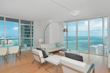 2 bed/2.5 bath unit @  Icon/W Hotel w/ bay views!! - Lakás