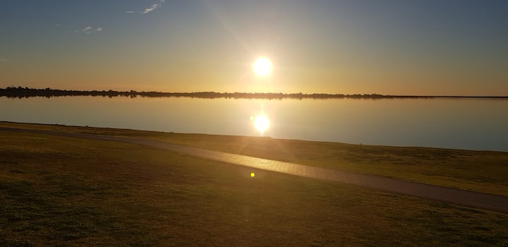 Jewel of the Riverland. Lake Bonney bliss!