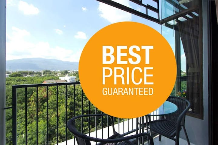Nice & Spacious 1BR in Chiang Mai City (pool/gym) - Chiang Mai