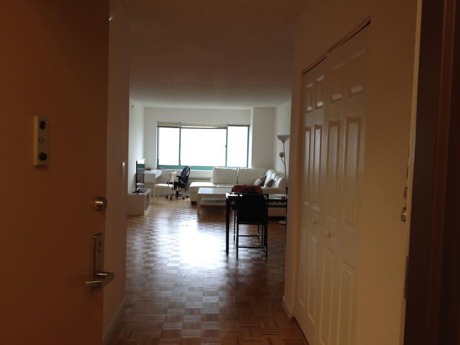living room, sofa is provided for living
