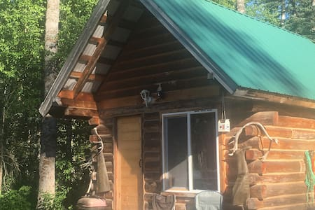 Real cozy Alaska cabin. Tranquilty - Cottage