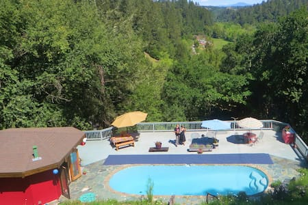 Pet Friendly Poolhouse Russian River Sonoma County - Cabaña