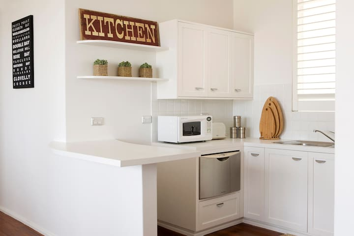 Kitchen (combined with living room)