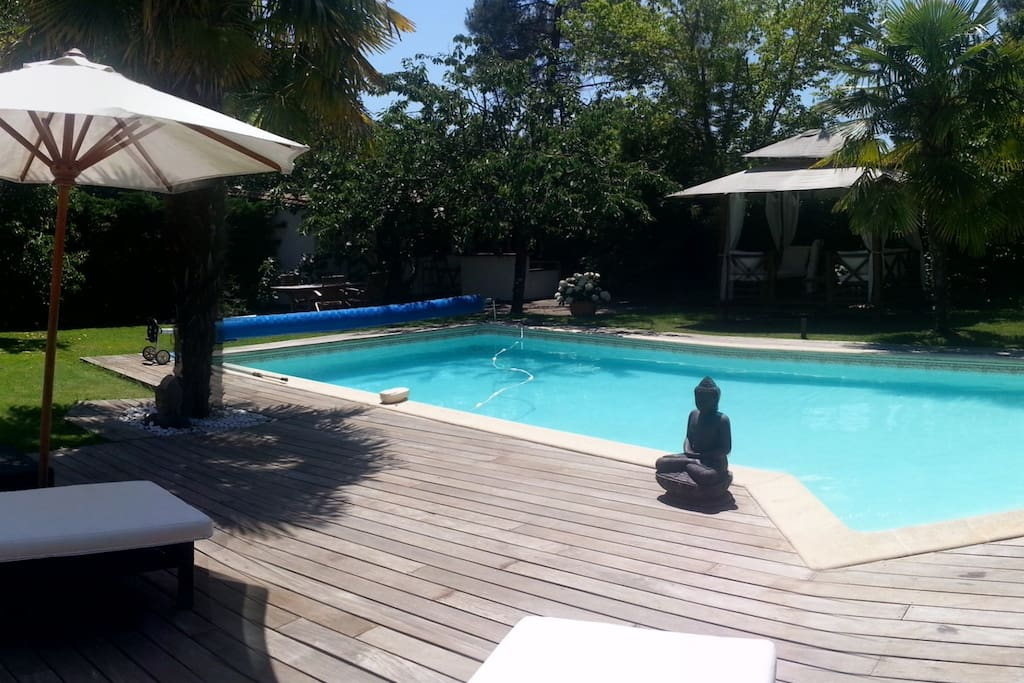 villa de standing piscine gironde houses for rent in