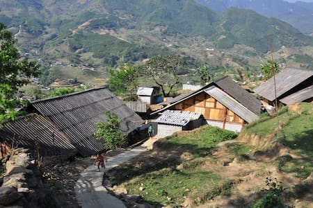 Mountain view room in Sapa valley