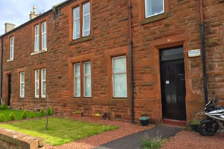 Troon Open Golf 2016 - 2 Bedroom Flat & Garden - Troon - 公寓