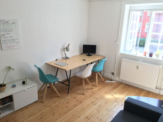Nice and cosy 2 room apartment in Østerbro