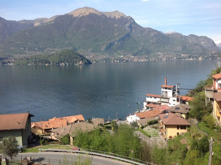 fantastic view of the Como lake