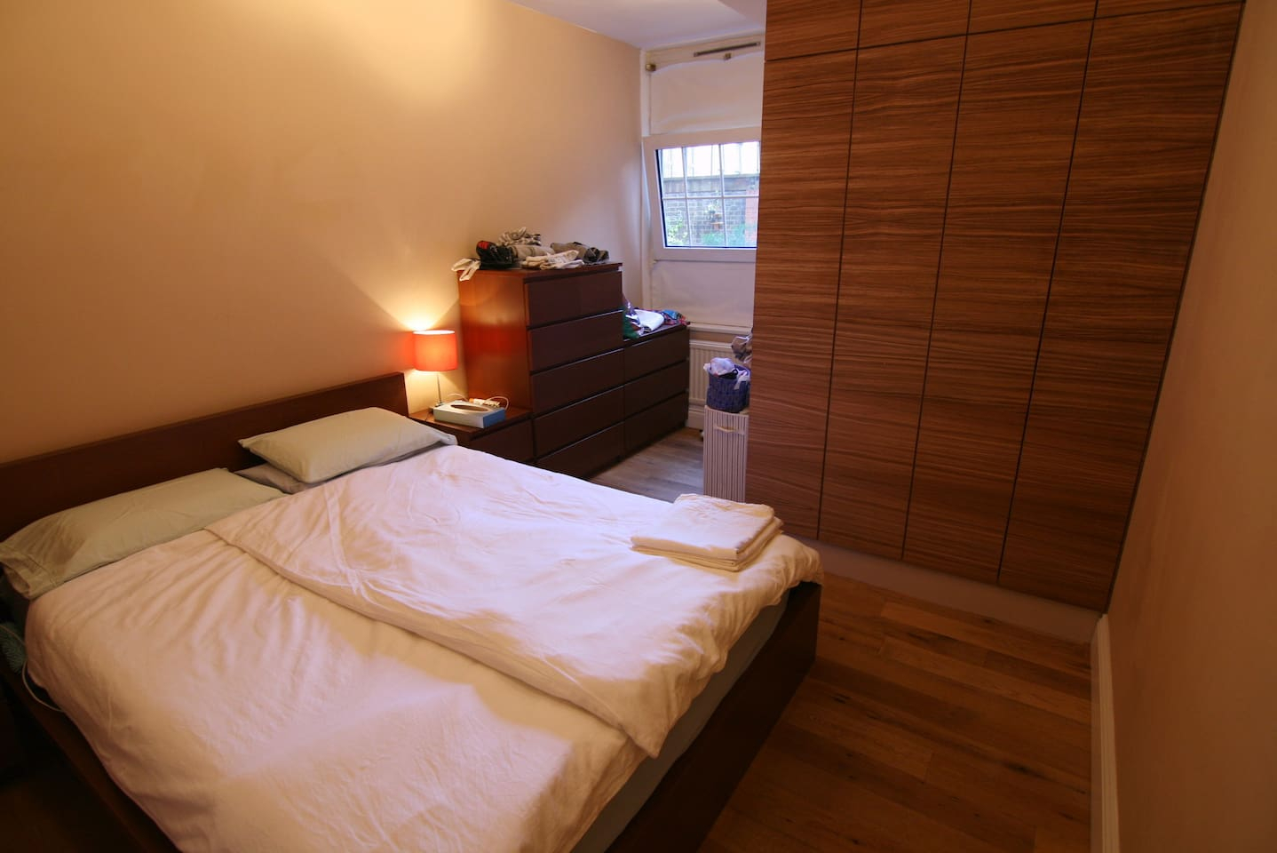 King size bed for 2 -