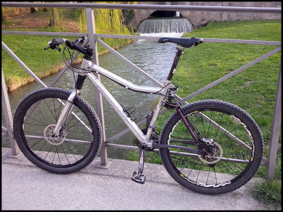 Cannondale MTB to use for the Guests