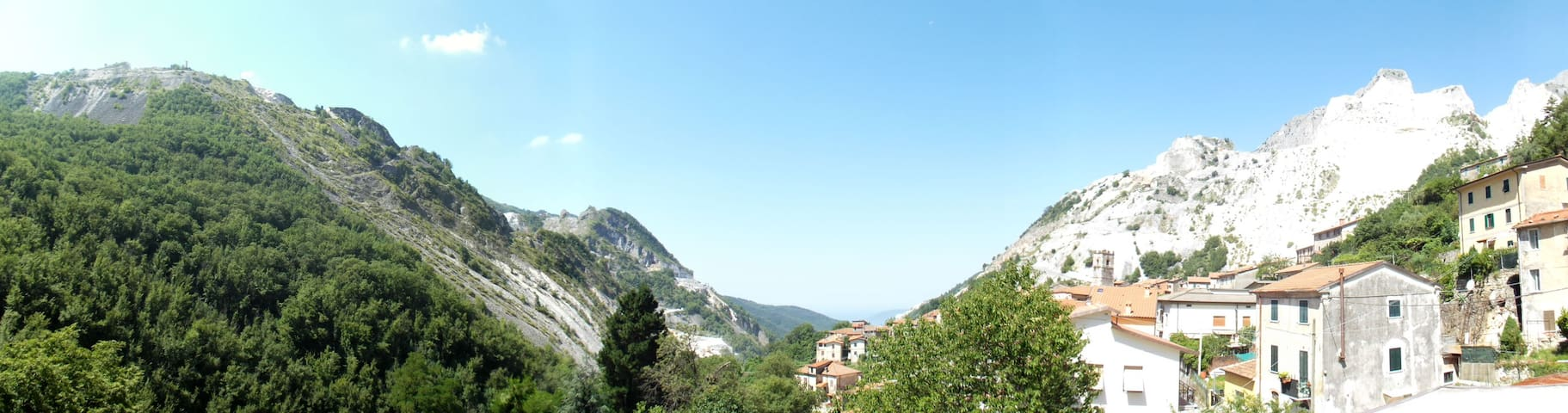 Nel cuore delle Alpi  Apuane - Colonnata - Daire