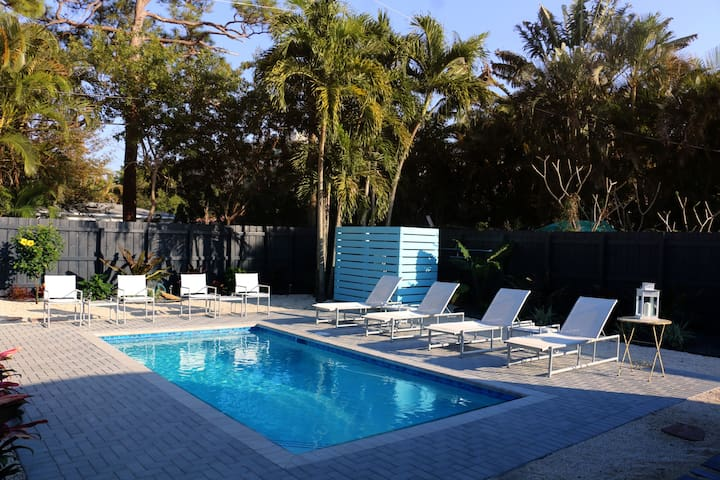 Island City Oasis, Unit 2, Flamingo Suite - Wilton Manors - Bungalow