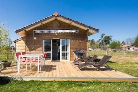 Chalet 4 pers. with shared swimming pool - Hourtin - Bungalo