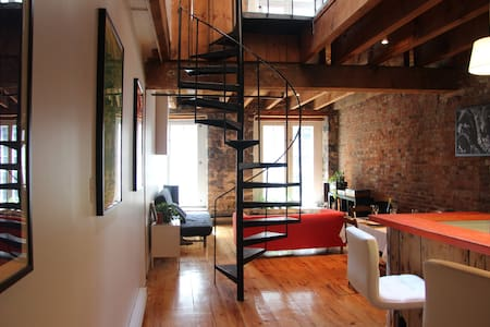 Beautiful loft in Old Montreal - Montréal