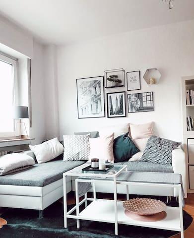 Schöne 1-Zimmer-Wohnung direkt in der Innenstadt