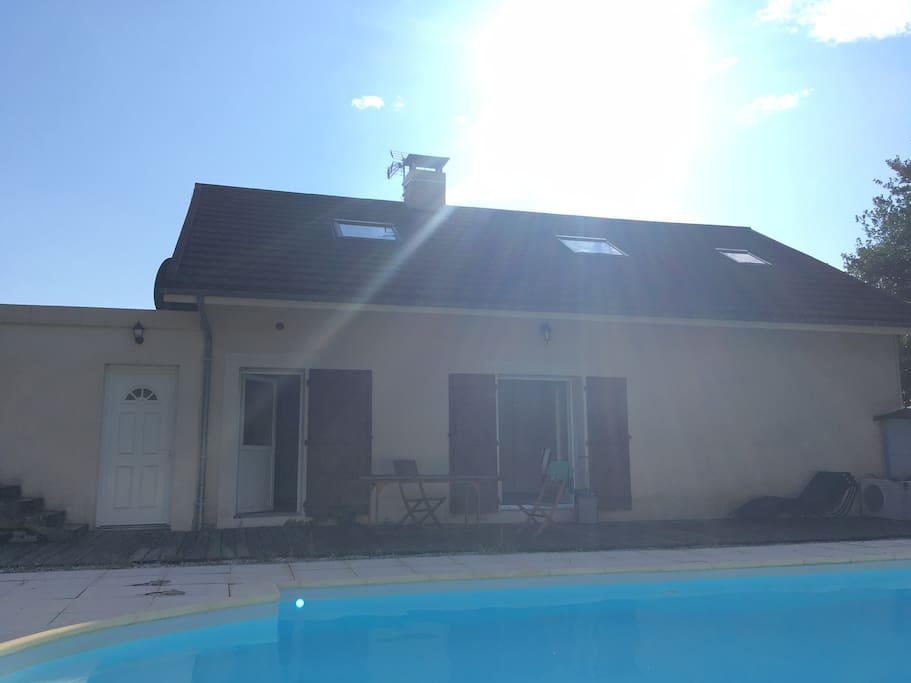 Logement 7 personnes avec piscine apartments for rent in for Piscine franche comte
