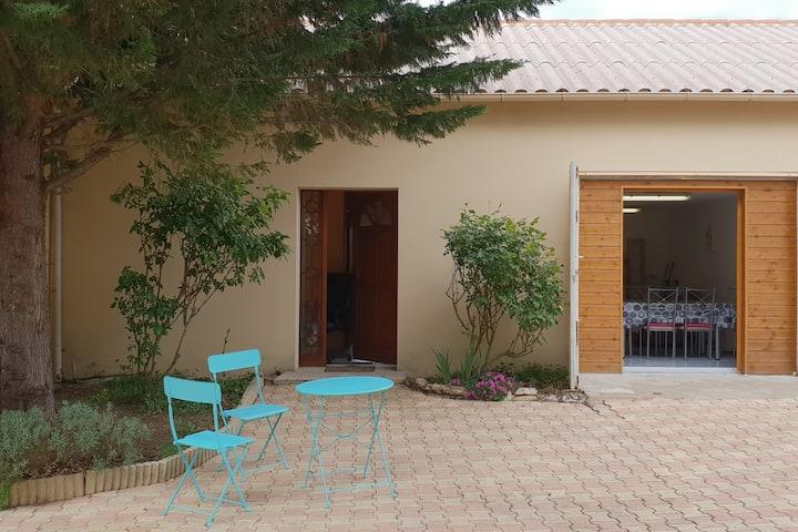 Cahors,au calme,Maison grd T3 indépendant,jardin .