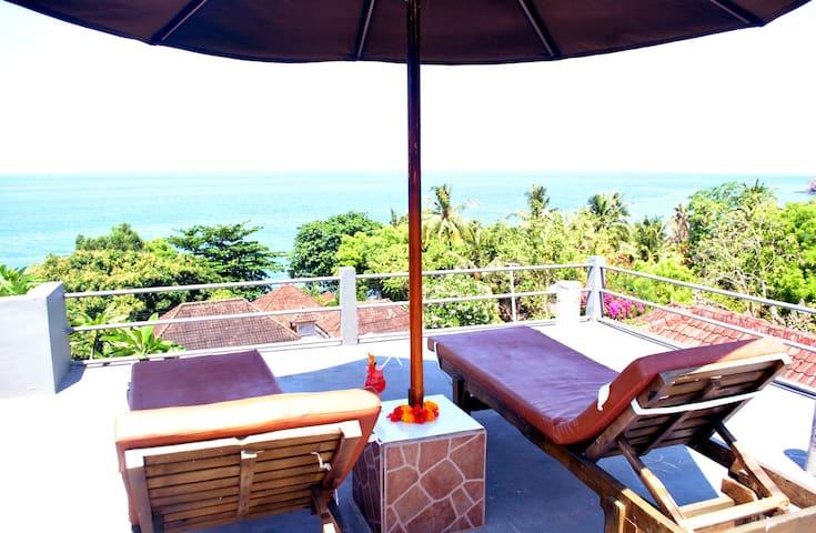 Titi Sedana with sea view - Abang - Bed & Breakfast