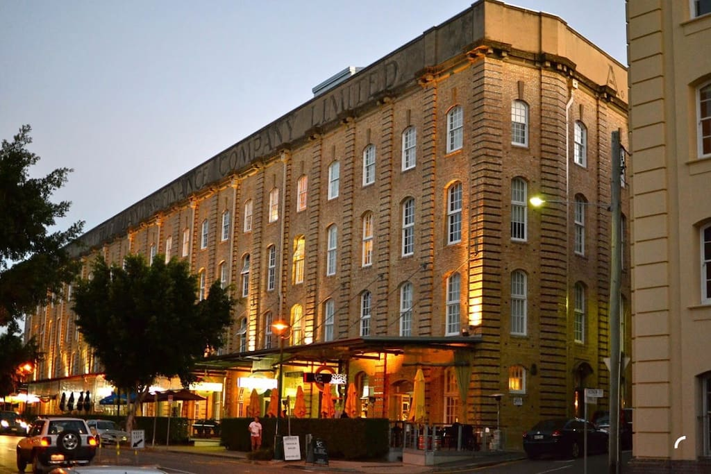 The iconic London Woolstore