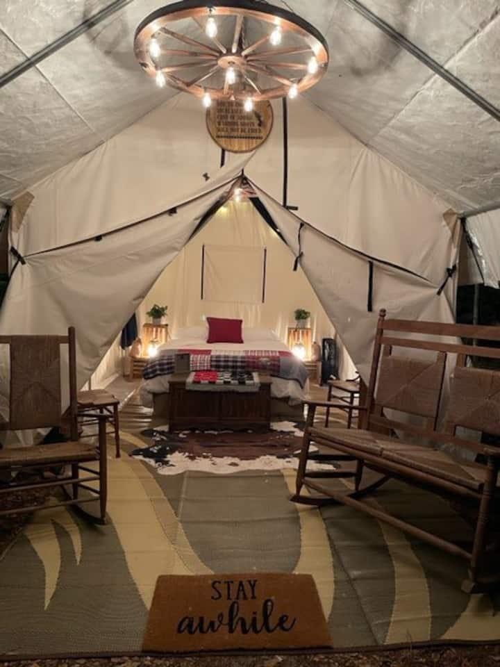Luxury Pioneer Camp