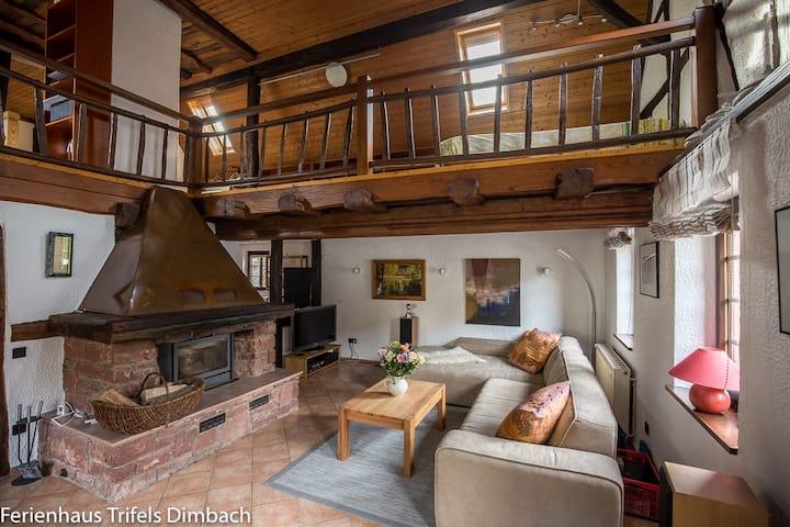 Landhaus Ilse - Ferienhaus Trifels mit Sauna