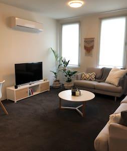 Spacious apartment + great location