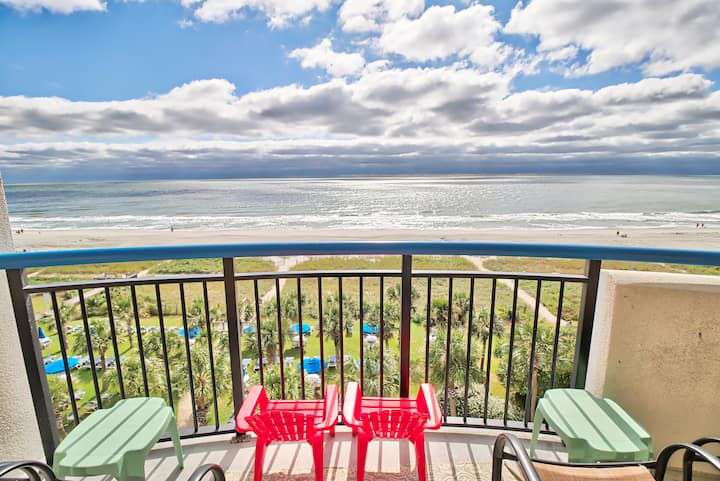 Rest, Relax, & Soak Up the Rays! Ocean Front Condo