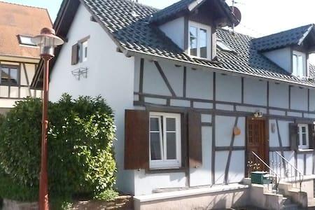 La Maison Bleue Strasbourg campagne - Truchtersheim
