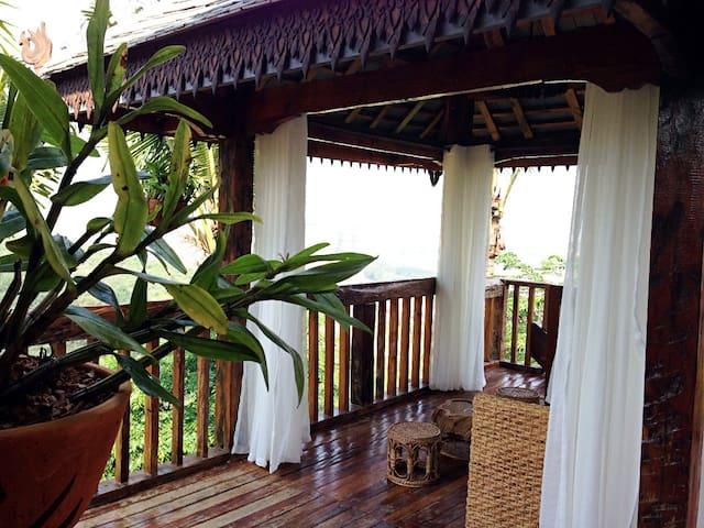 私密的热带雨林花园别墅 - 景洪市 - Huvila