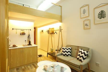 厦门海韵民宿2复式公寓Brt快速直达机场高铁站火车站中山路-交通生活便利 - Xiamen - Appartement
