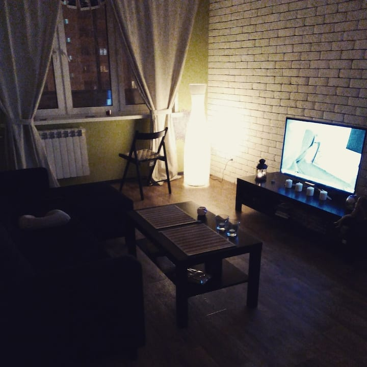 Трехкомнатная квартира в центре города