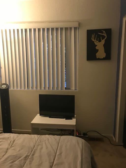 TV inside room