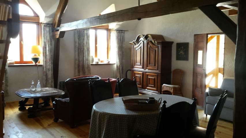 2 cosy and original apartments 4/4p - Saint-Bonnet-Tronçais - Apartemen