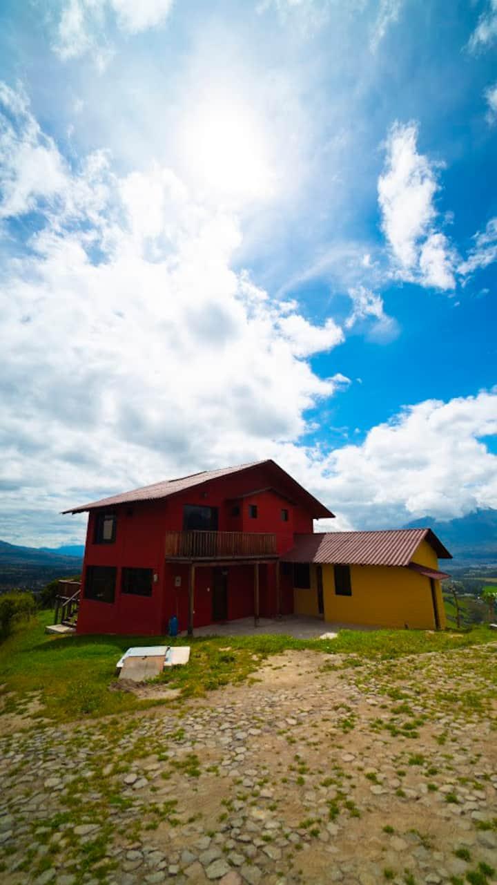 Cabaña en casa de campo soñada