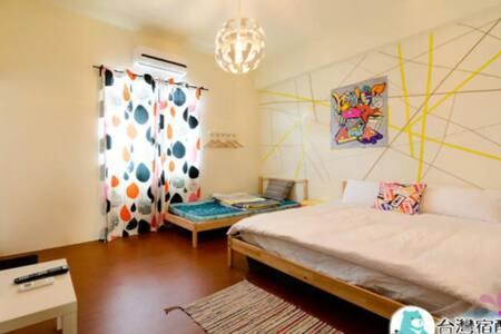 小小民宿-簡約、乾淨雙人房(隨機房型)