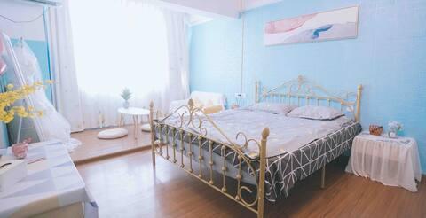 『Q 西区衢州学院衢职院对面独立公寓100寸投影家庭影院 带厨房可做饭