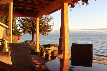 Shoreline Suite; a perfect waterfront getaway - 锡谢尔特(Sechelt) - 客房