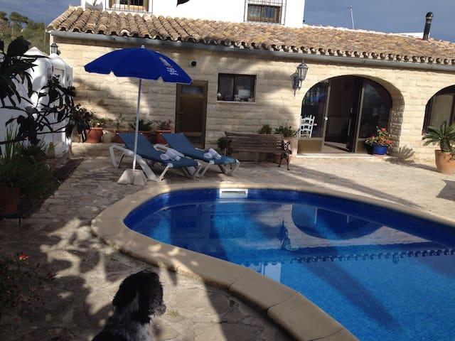 Casa de campo con piscina - Benissa