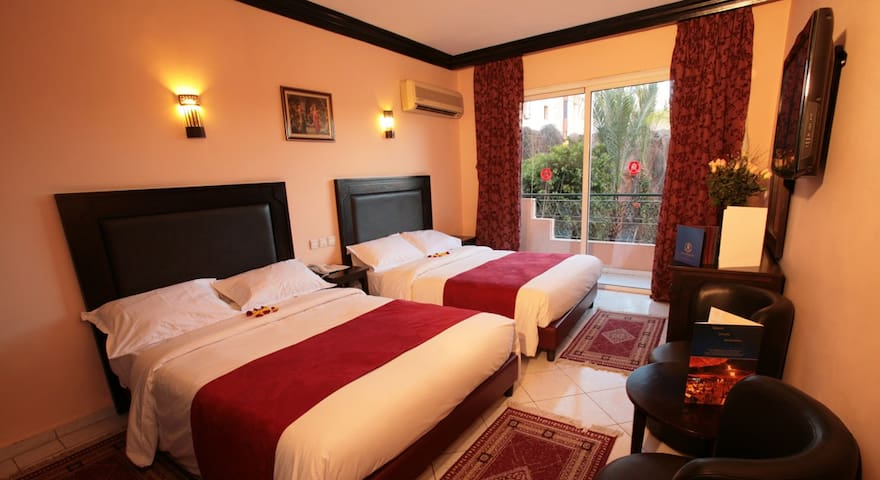 hotel imperial holiday marrakech Chambre double - Marrakech - Bed & Breakfast