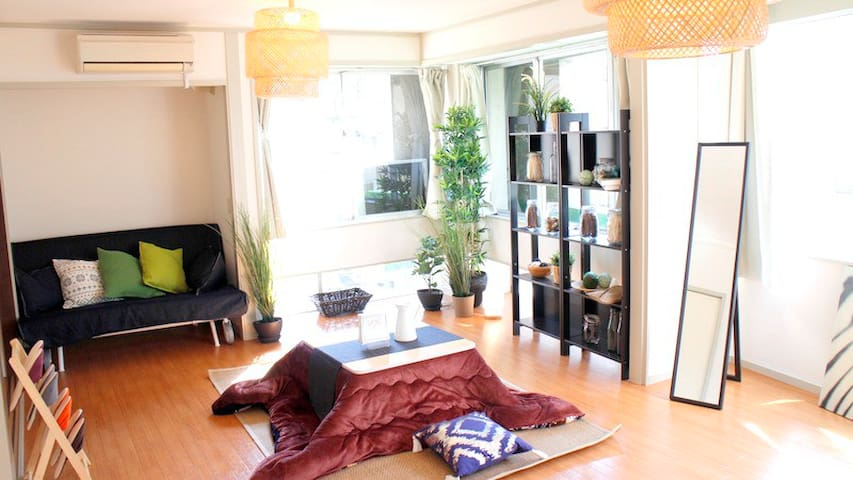 ASAKUSA,Easy access and cozy room!! - 台東区3-10-1 - Huoneisto