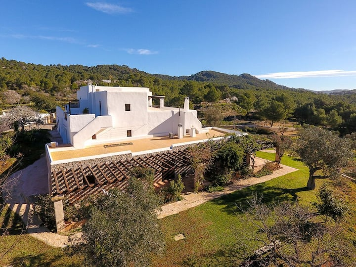 Room countryside Ibiza pure nature