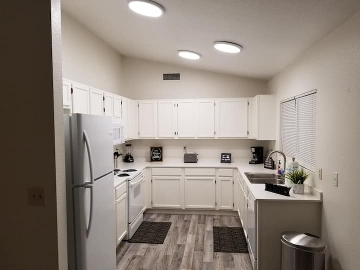 The entire home is for you!  Come stay in Peoria!